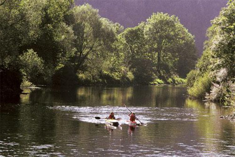 Kayak sur le Doubs